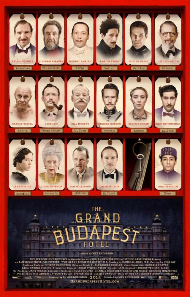 Film Review: The Grand Budapest Hotel (2014) (1/3)