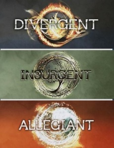 Divergent, Insurgent, and Allegiant