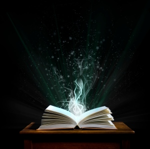 Magic book             (© Lobke Peers)