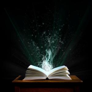 Magic book             (© Lobke Peers)
