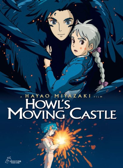 howls movins castle poster