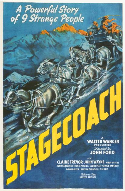 stage coach poster